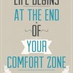 Groeien doe je buiten je comfort zone