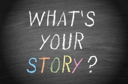 Wat is je verhaal- tekstschrijver