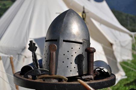 middeleeuwse tent